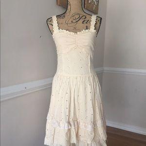 Vintage Cream Sundress